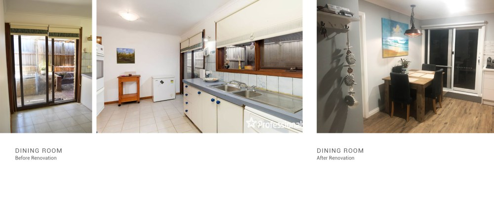 Kitchen and dining room Montrose