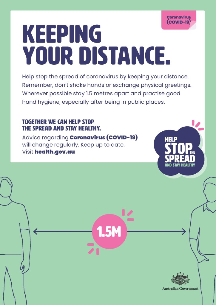 keeping your distance