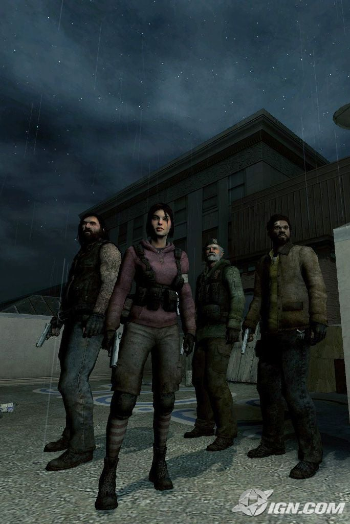 The four protagonists of Left4Dead.
