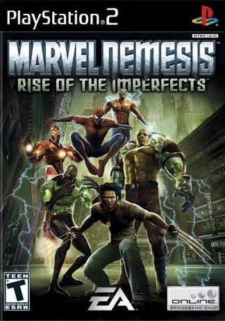 Marvel Nemesis Rise of the Imperfects  PlayStation 2  IGN