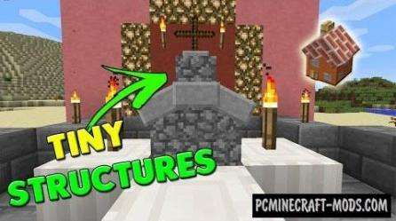 Tiny Churches Command Block For Minecraft 1 10 2 1 10 1 9 4 PC Java Mods