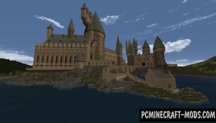 Hogwarts Castle Amp Grounds Map For Minecraft 1141 1132 PC Java Mods Amp Addons