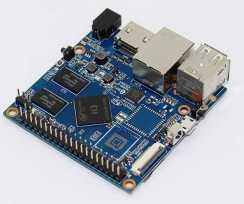 Banana Pi BPI-M2+ EDU облегченная версия одноплатного компьютера с SoC Allwinner H3