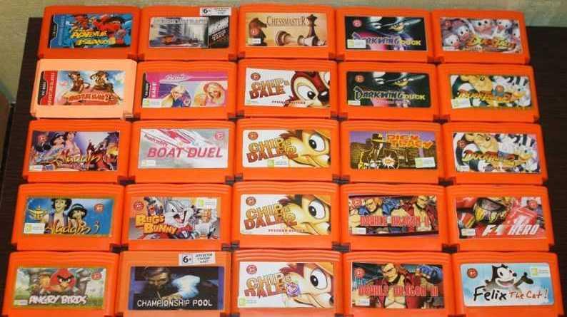 Как запустить игры NES (Dendy) в RetrOrangePi