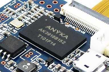 ANYKA ak3918 описание, блок-схема, техническая документация