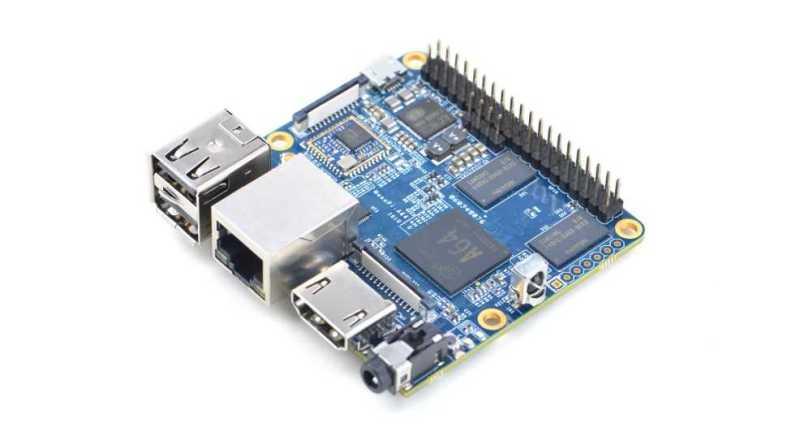NanoPi A64 - 64-разрядный одноплатный компьютер с OC Ubuntu Mate