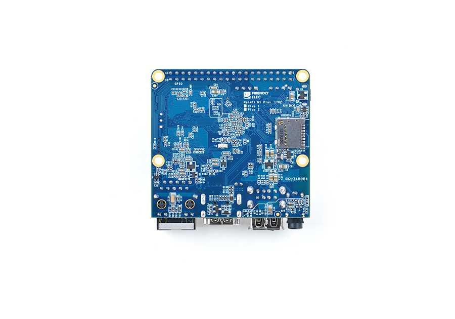 Nanopi M1 Plus одноплатник небольших размеров с высокоскоростной памятью eMMC