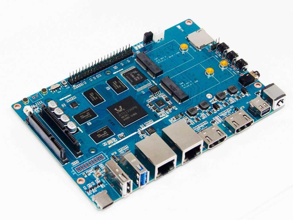 Banana Pi Bpi W2 высокопроизводительный маршутизатор c OS Linux который можно купить на Aliexpress