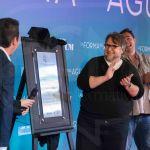 Guillermo del Toro devela placa