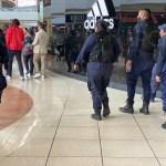 Policía de Morelia plaza Las Américas