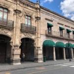 Centro de Morelia vacío por decreto COVID-19