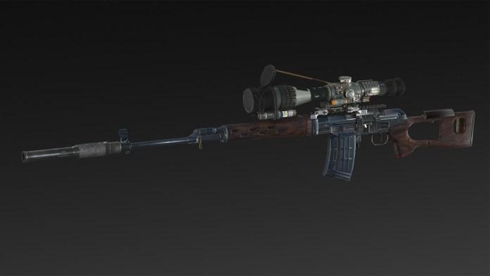SniperGhostWarrior DragoonSVD