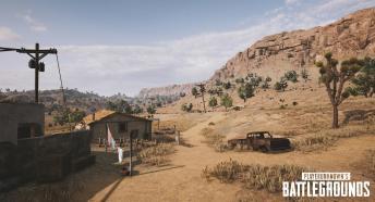 Playerunknown's Battlegrounds - pustynna mapa