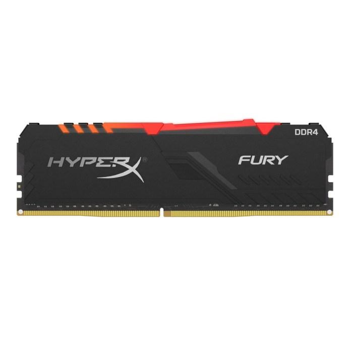 HyperX Fury DDR4 RGB - nowe pamięci z podświetleniem RGB LED 1
