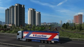 Euro Truck Simulator 2 - Road to the Black Sea - Tracja