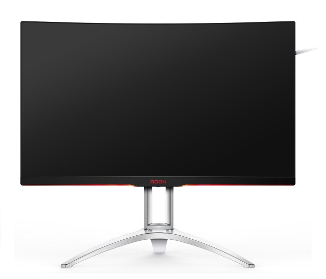 AOC AG322QCX front view AOC AGON AG322QCX   The 32 inch curved screen gaming monitor