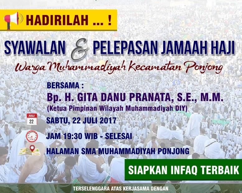 Syawalan dan Pelepasan Jamaah Haji 1438H
