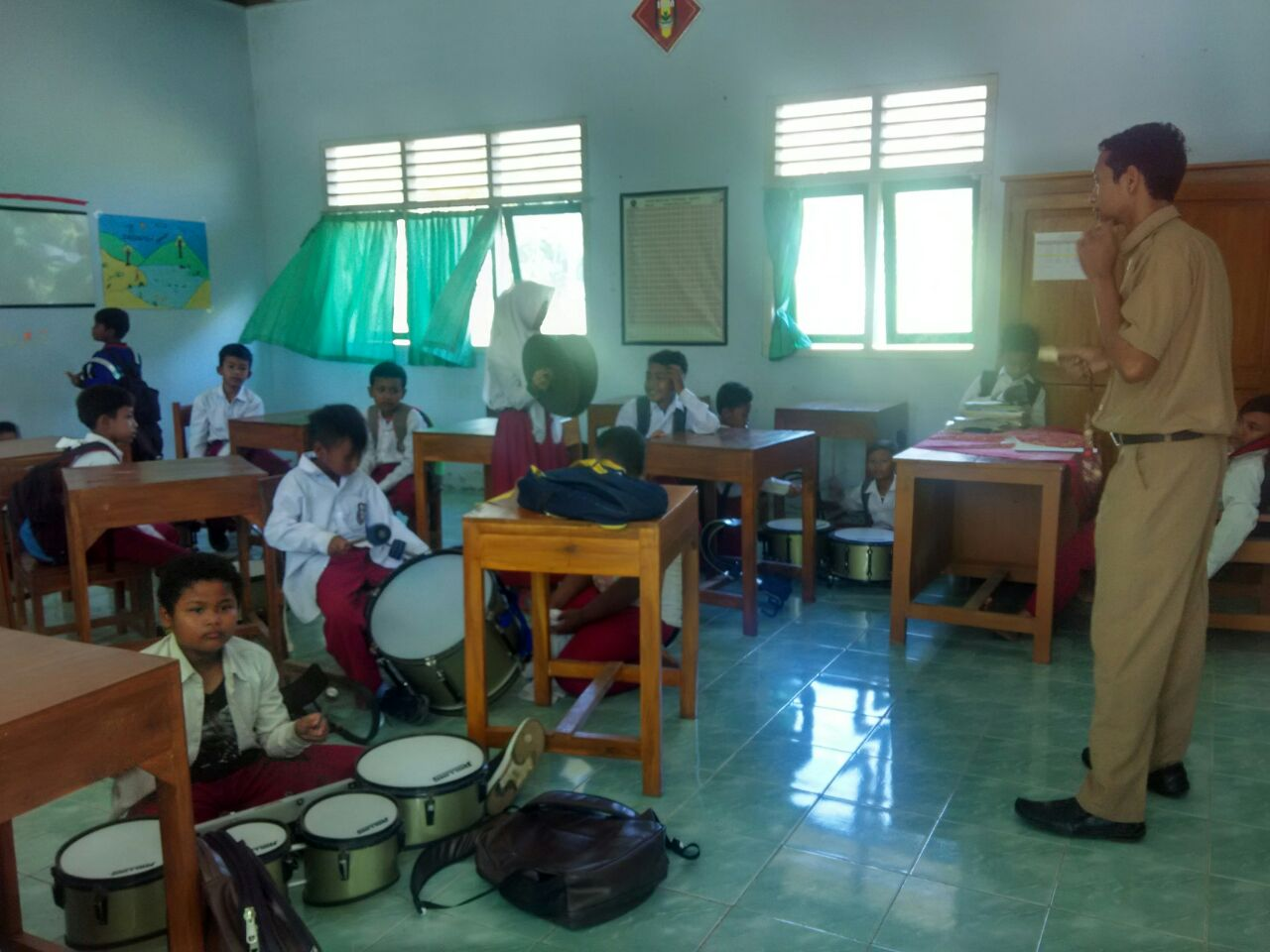 Kegiatan Belajar Mengajar Foto foto Kegiatan di SD Muhamamdiyah Bedoyo