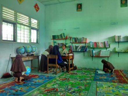 Perpustakaan SD Muhammadiyah Bedoyo