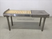 Roller Conveyor With Packing Table 48'' X 24'' X 15.75 ...