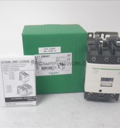 lc1d80g7 schneider contactor 600vac 80a 3 pole 120vac coil new in box  [ 1024 x 768 Pixel ]