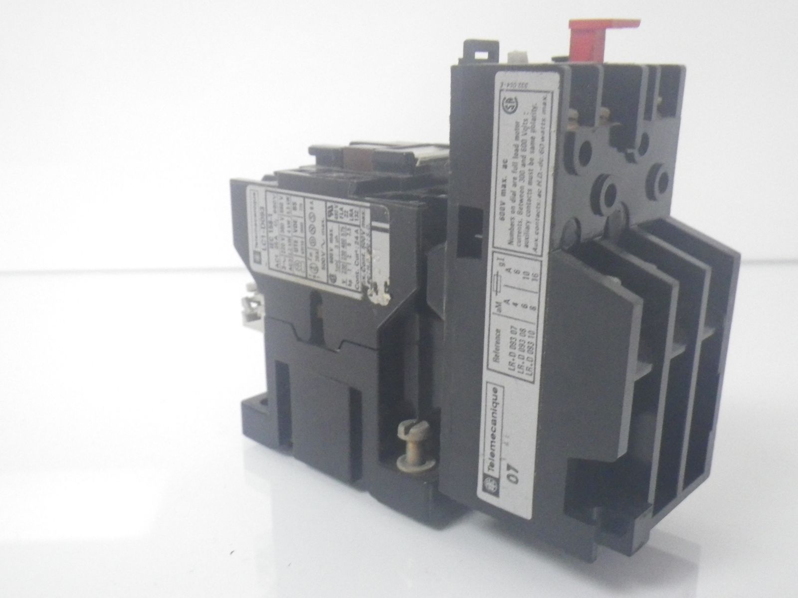 contactor and thermal overload relay wiring diagram 93 chevy silverado radio lc1 d093 lc1d093 w lr1 d09 button
