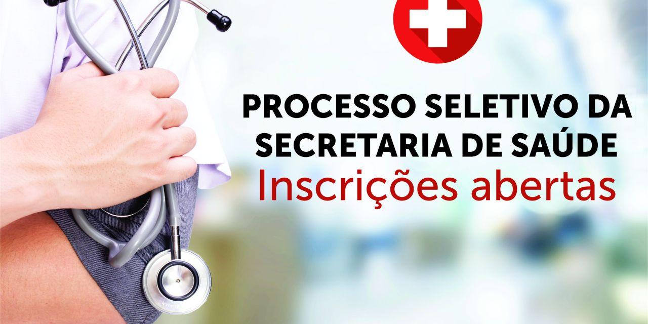 Abertas as inscrições para processo seletivo da Secretaria de Saúde de Camboriú