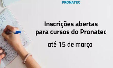 Seguem abertas as inscrições para cursos do Pronatec em Camboriú 15/02/2018Compartilhar:
