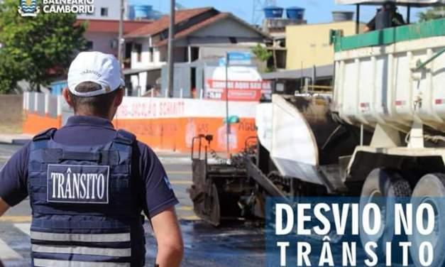 Requalificação das vias será na Alvin Bauer e Avenida Brasil esta semana