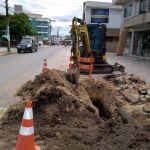 Bairro Cedro recebe investimentos na rede de água em Camboriú