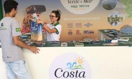 Turismo de Camboriú divulga município durante a Volvo Ocean Race