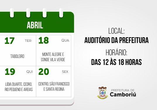 Cadastramento para liberação do FGTS aos atingidos pela chuva em Camboriú inicia terça-feira