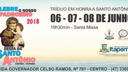 Festa em honra a Santo Antônio acontece em Junho