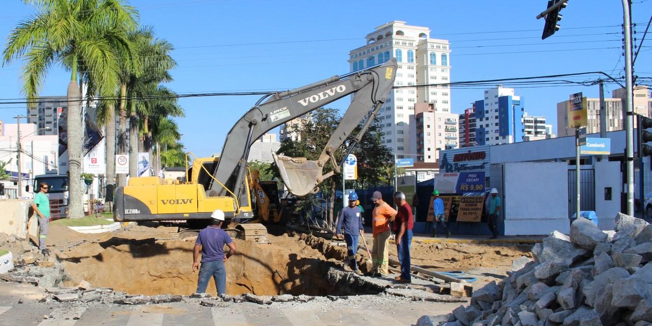 Liberado o cruzamento entre as avenidas Joca Brandão e Sete de Setembro