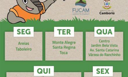 Coleta seletiva é ampliada para bairros do Distrito Monte Alegre e área rural de Camboriú