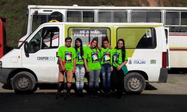 Itajaí adere campanha de conscientização para coleta seletiva