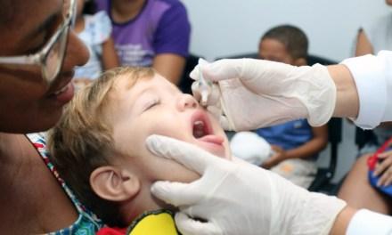Camboriú atinge a meta de vacinação contra poliomielite e sarampo