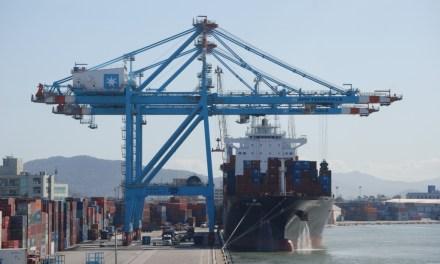 Porto de Itajaí apresenta crescimento de 200% em julho