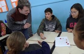 Oficina de matemática em parceria com o IFC começou nesta semana