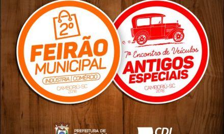 Camboriú sediará 2° Feirão Municipal entre 13 e 16 de setembro