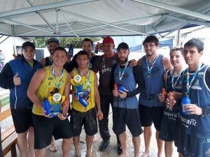 Equipe de vôlei de Praia conquistou bons resultados no final de semana