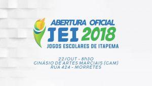 Jogos Escolares de Itapema (JEI) 2018 iniciam na próxima segunda-feira