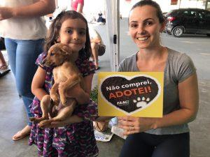 FAACI realiza feira mensal de adoção de animais domésticos em Itapema