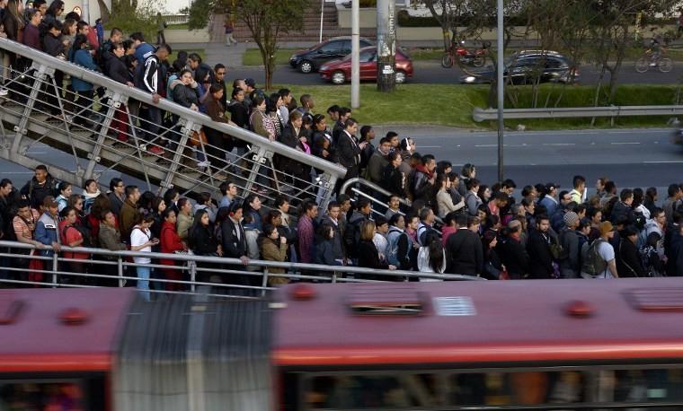 El Caos Del Transporte En Bogotá, Clave Para Las