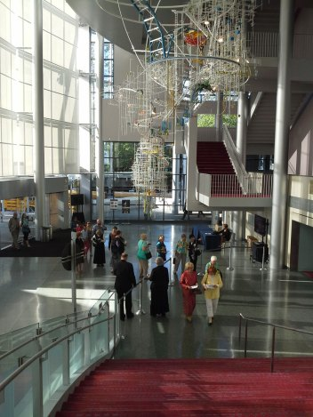 Concert-Goers Arriving at McCawHall