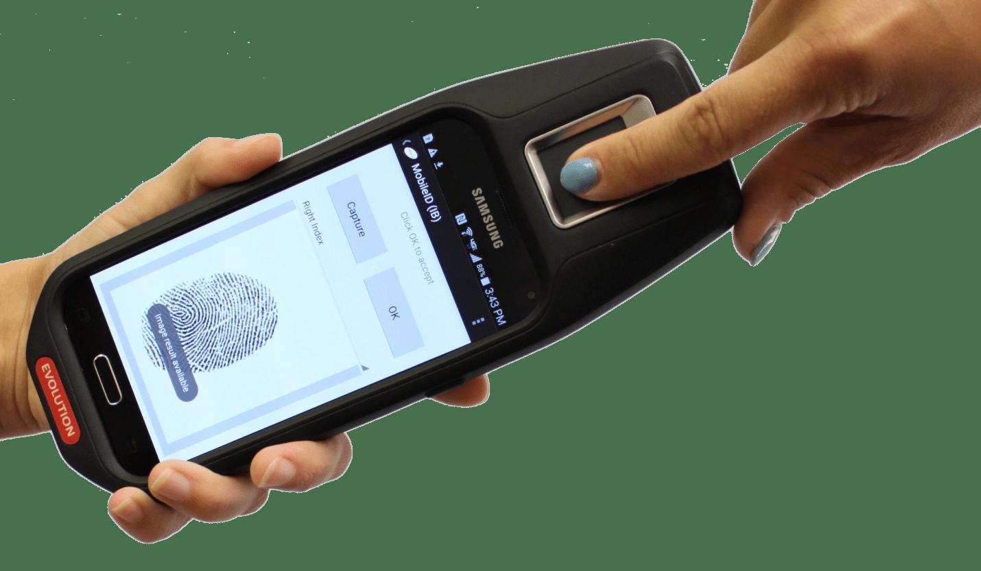 mobile fingerprint id