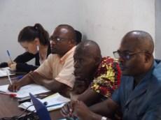 Comité de pilotage du PCPA Congo