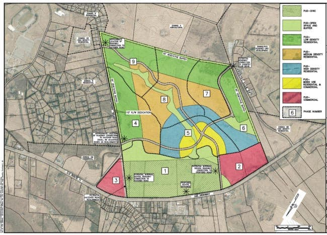 Supervisors clear way for Countryside Landing development around middle school site