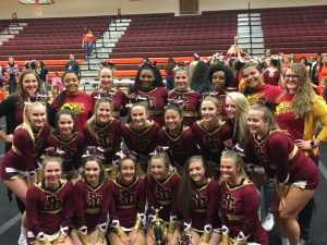 PCHS Competition Cheer Squad wins Class 4 Region D Championship