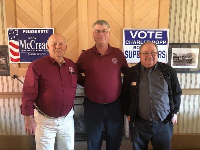 McCready, Bopp, O'Dell announce bids for re-election